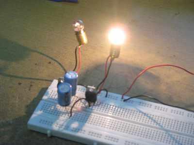 Assembled Flip-Flop Circuit