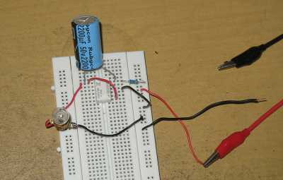 Relay Flasher Circuit