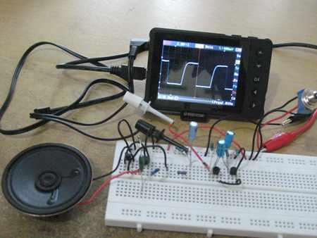 Assembled Alarm Circuit