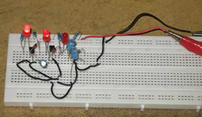 Running LED Circuit