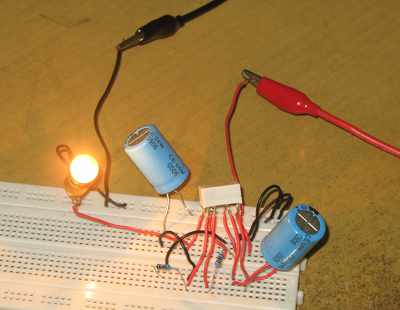 Simple DPDT Relay Flasher Circuit