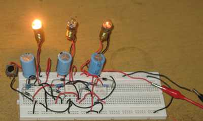 Figure 1. Hamuro's Complex Moving Light Controller Using Relays