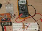 Figure 1. Assembled Hamuro's Electronic Fuse/Circuit Breaker Circuit