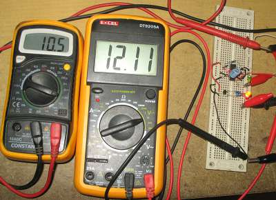 Assembled Switching Current Limiter Circuit