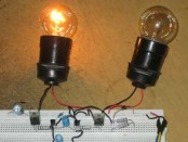 Figure 1. Assembled High Voltage Flip-Flop Circuit